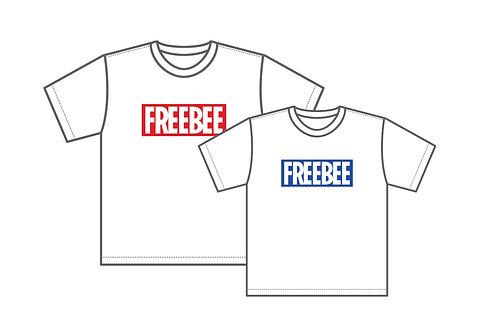 ロゴTシャツ【Red/Blue】