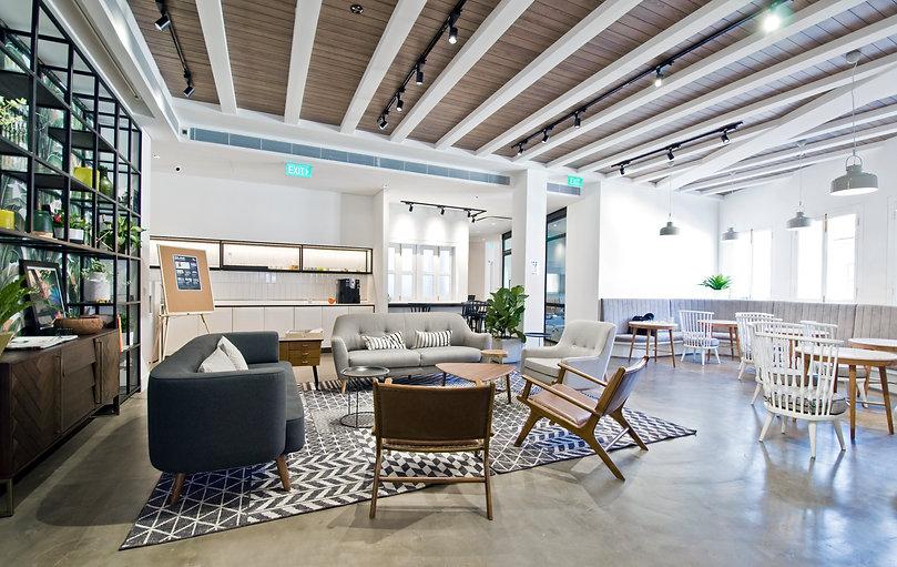 The Co. Duxton - Level 2 Lounge Area 02.