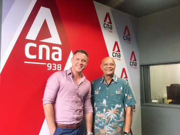 THE FUTURE OF WORK: ARCC SPACES COO, MATTHEW CHISHOLM ON CNA938 ASIA'S FIRST WEEKEND EDITION
