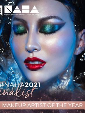 PRO BEAUTY ASSOCIATION NAHA MAKEUP ARTIST OF THE YEAR 2021