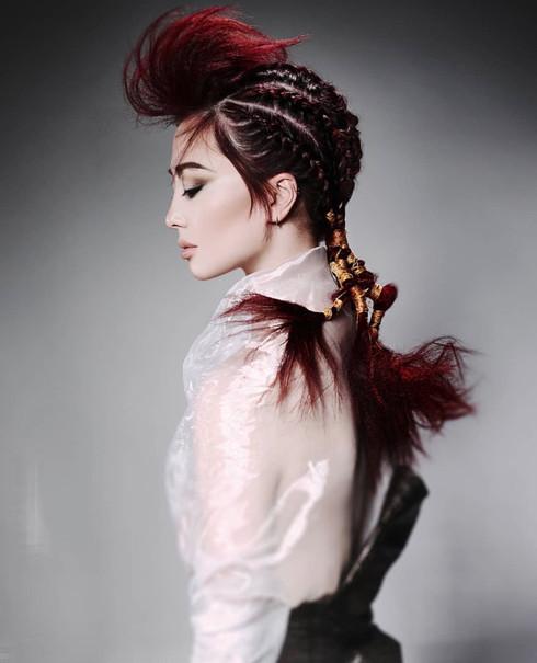 Photo: John Rawson Hair: Mio Sota Model: Ainsley