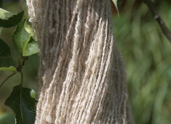 laine d'ouessant couleur écru crème
