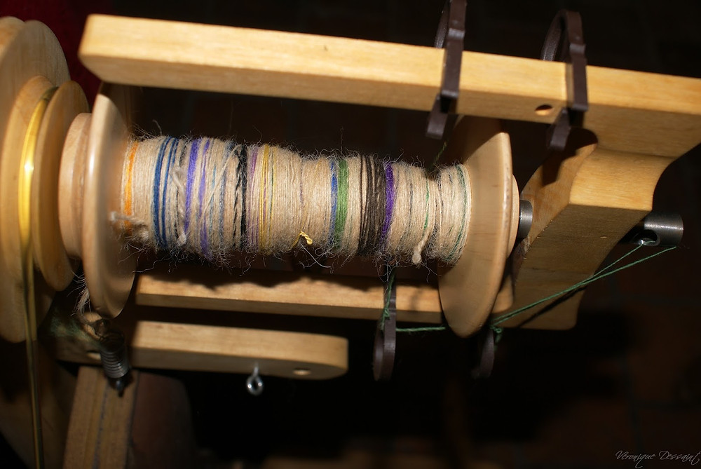 Filage solognote avec mérinos de couleur