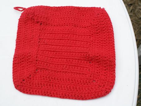 Création de maniques au crochet