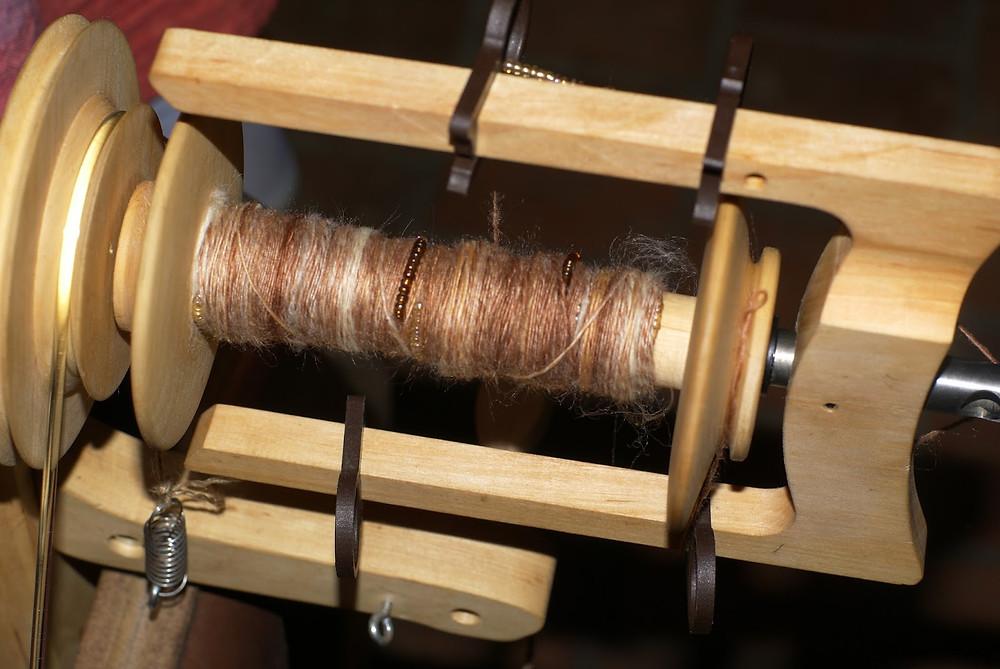 Perles de rocaille filage fil nylon