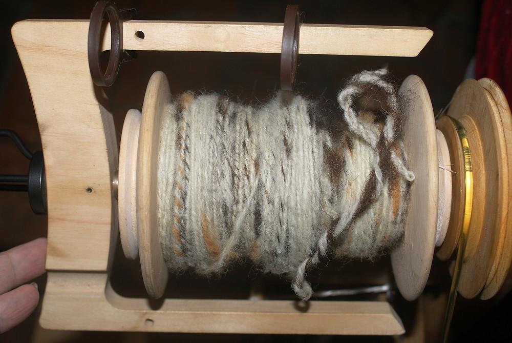 Filage solognote tweed alpaga ile de France