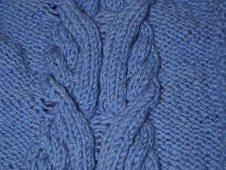 Des points de tricot