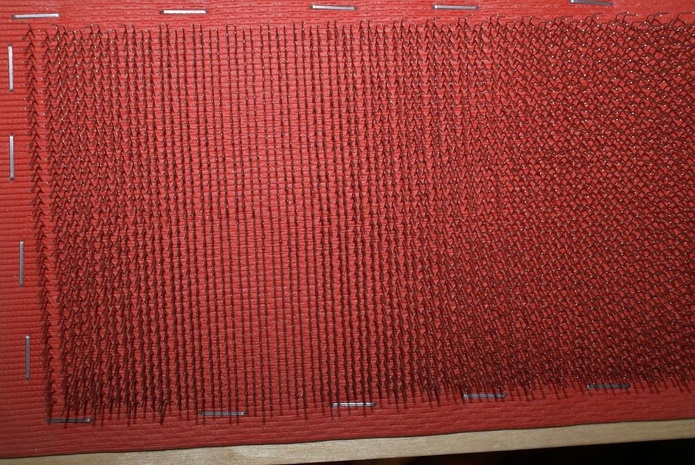 Détail tapis cardes neuves