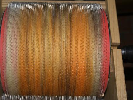 Mérinos aux couleurs fibres de bois