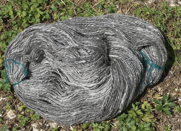 écheveau laine ouessant gris