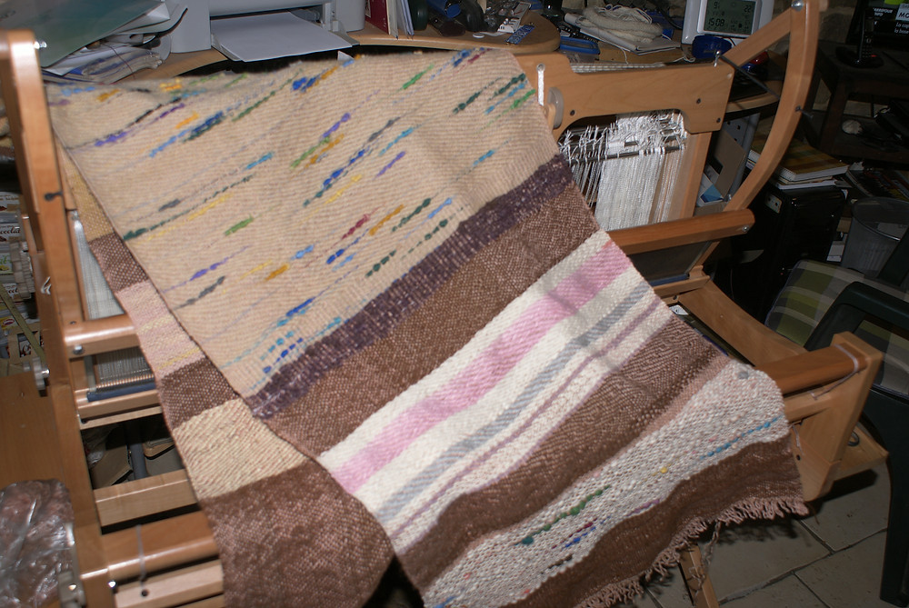 protège canapé en laine recyclée