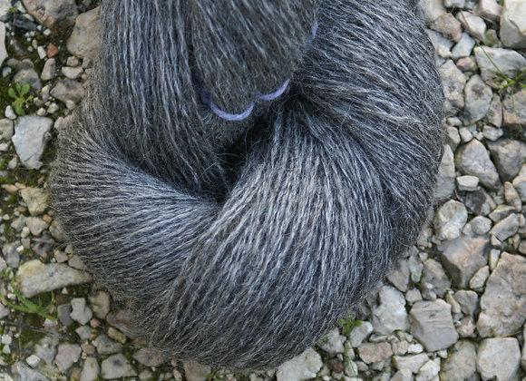 Echeveau de laine gotland gris