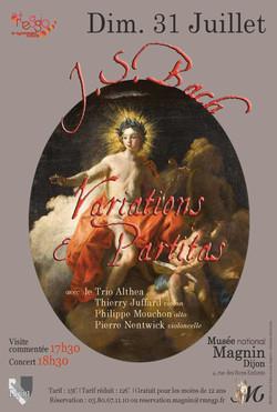Bach, Variations et Partitas