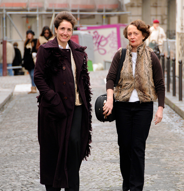 Florence Millet et Gaëtane Prouvost
