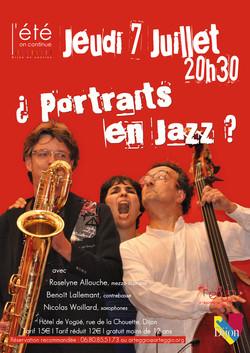 ¿ Portraits en Jazz ?