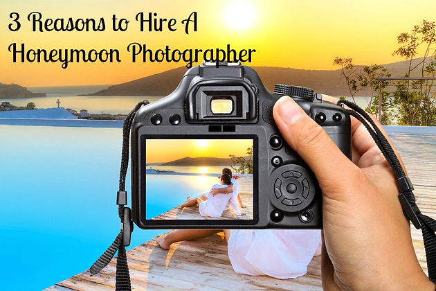 3 Reasons to Hire a Honeymoon Photographer | New York Bridal Make Up