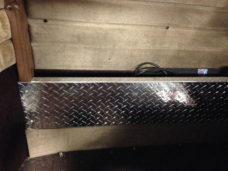 Peterbilt Unibilt XL Tool Tray