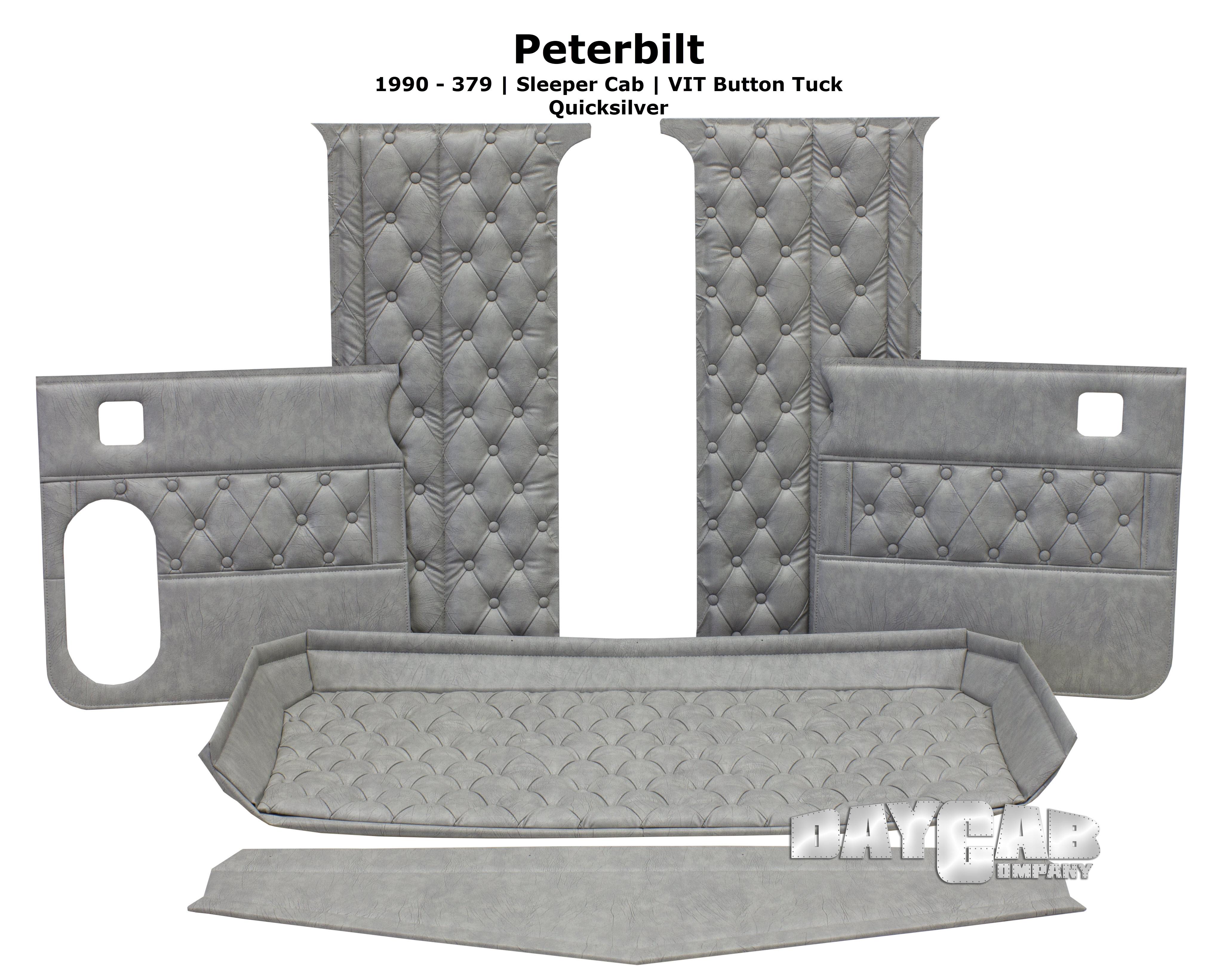 Peterbilt Interior 1990 379 Quicksilver