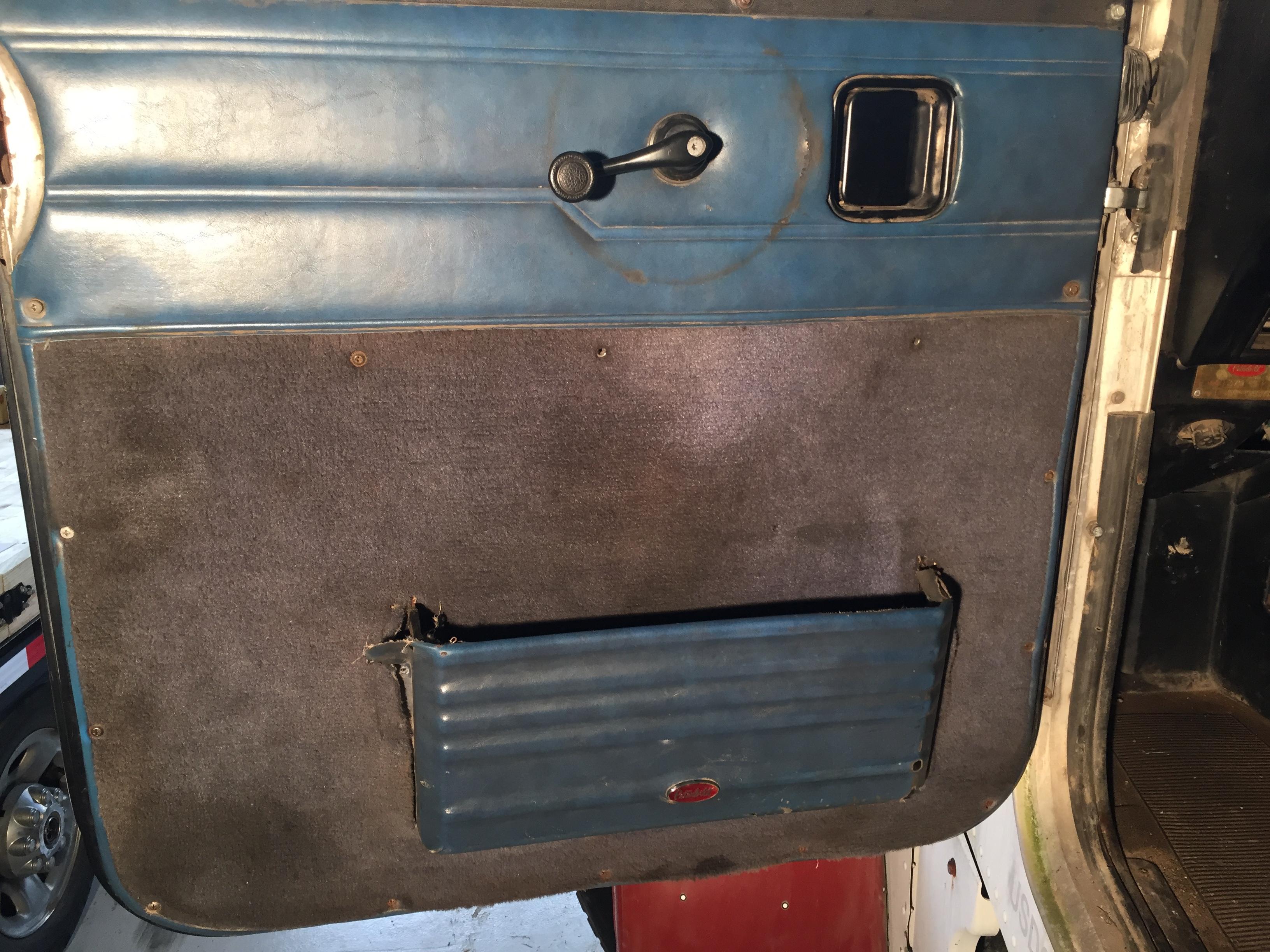 Peterbilt Door Pocket Old