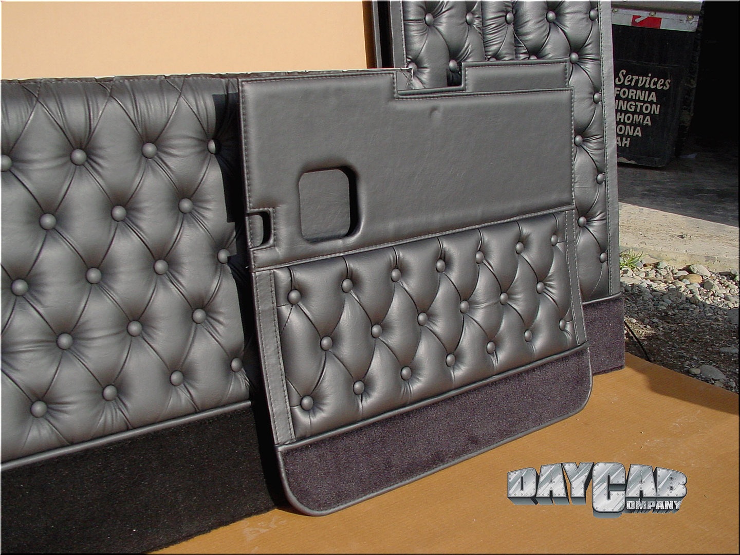 daycab company custom builds day cab conversion kits and upholstery kenworth interior vit gray