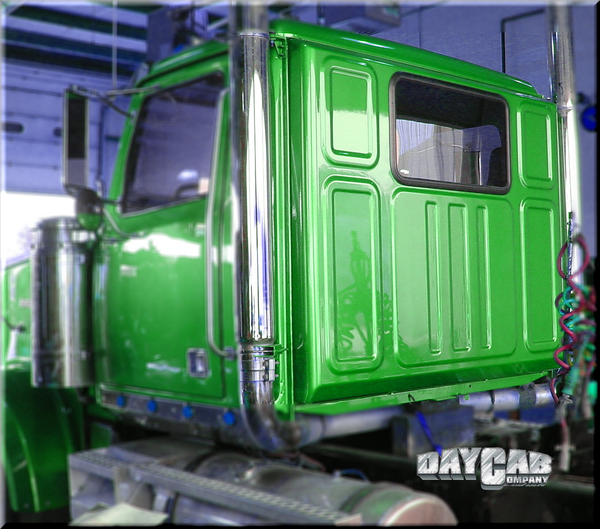Western Star EX Day Cab Conversion Green