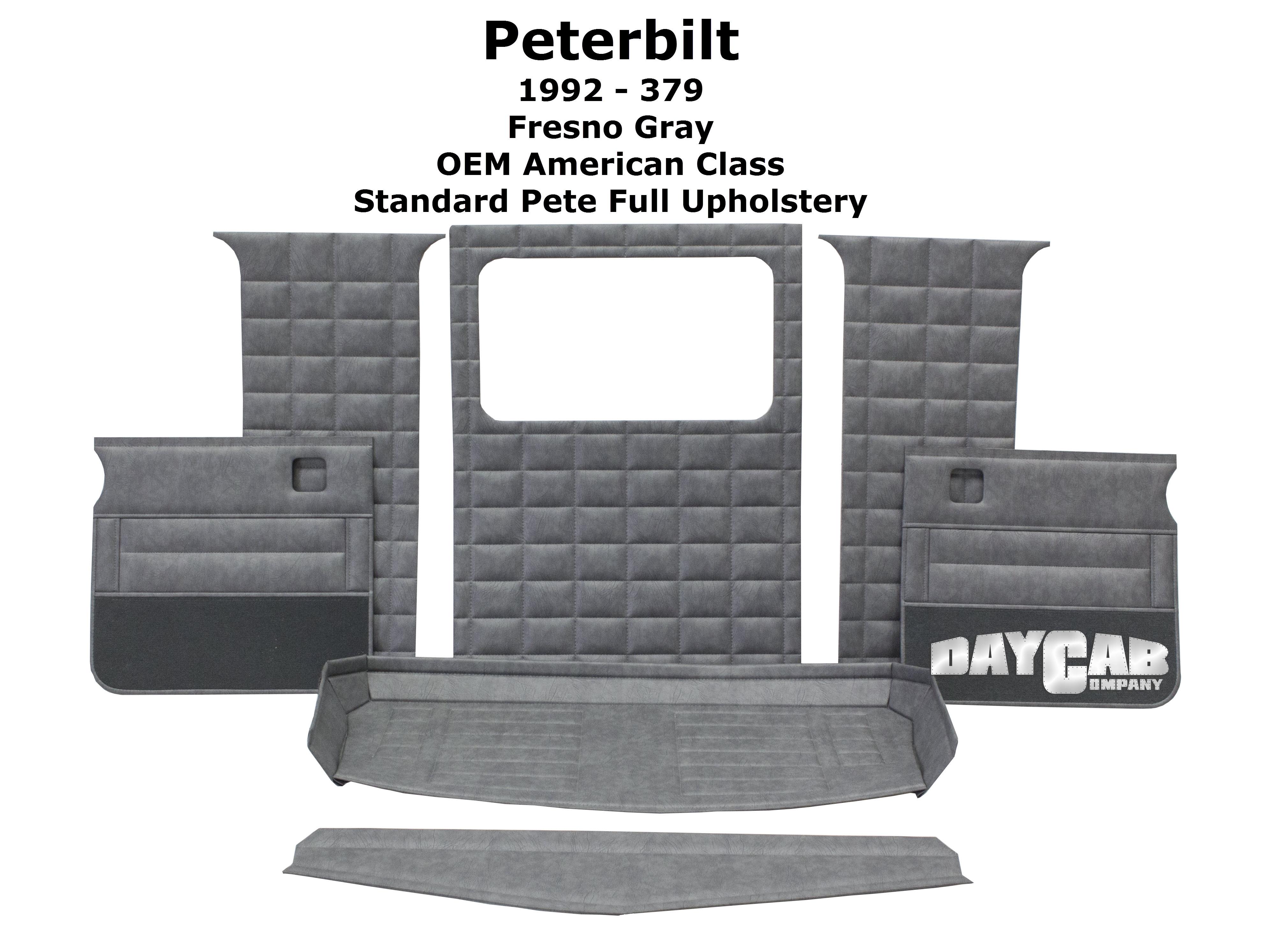 Peterbilt 1992 Standard Full Upholstery