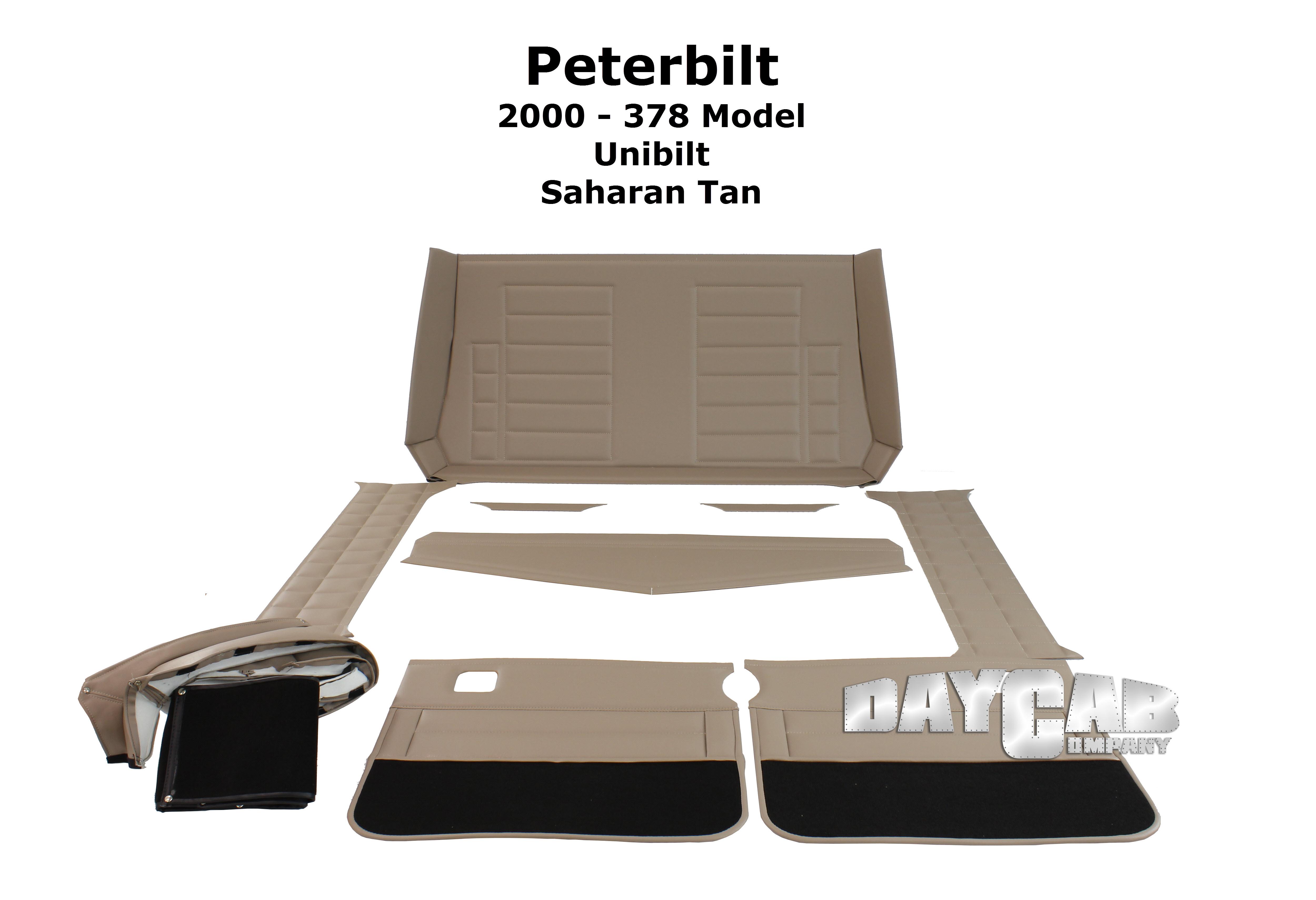 Peterbilt Interior 378 Unibilt Upholstery