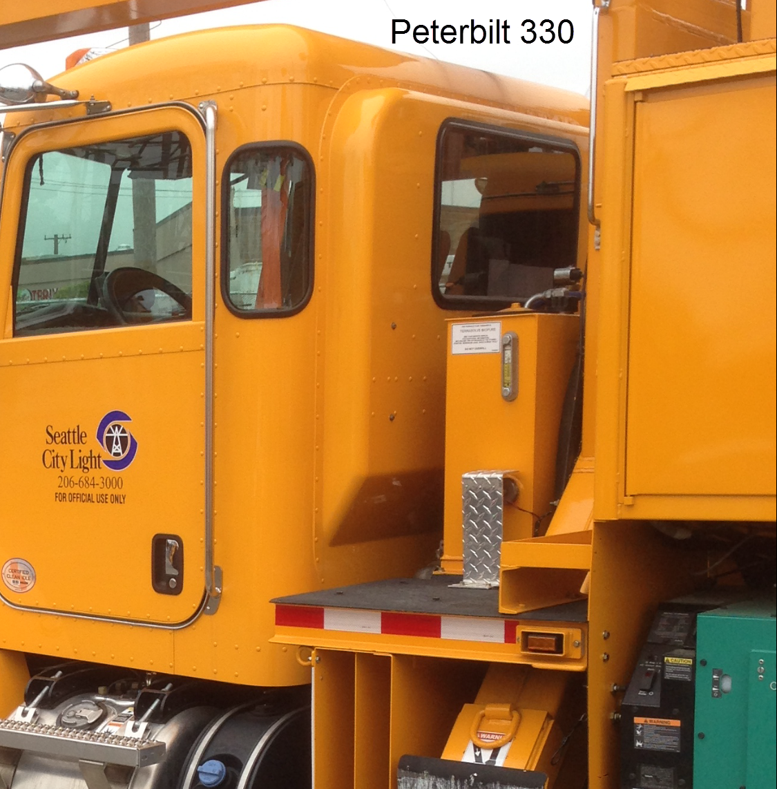 Peterbilt 330 With Corner Windows