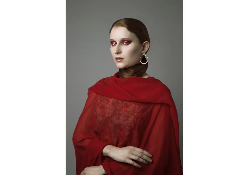 Modèle: Elise Speicher  MUA: Magali Tournade