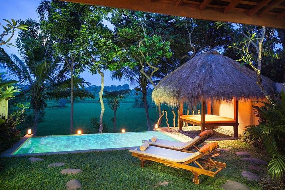 Bali real estate villas
