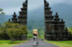 Bali houses for sale - Balinese gate