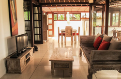 Views of living area