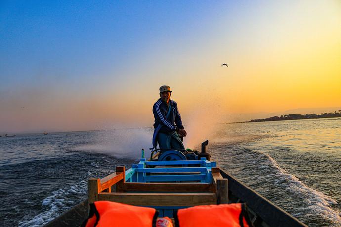 Conducteur de barque