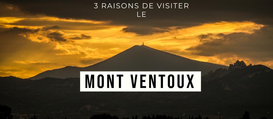 3 raisons d'aller visiter le Mont Ventoux