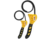 LX-1819 Lumax Multi Purpose 2 Piece Strap Oil Filter Wrench Set
