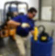 LX-1534 Flow Control Measure Cans with Flex Spout
