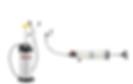 lumax Fluid Extractors and Dispensers, Manual Fluid Extractors, Syringe type Fluid Extractors