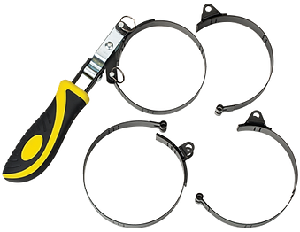 LX-1805 Lumax 4 in 1 Swivel Handle Oil Filter Wrench Set