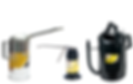lumax Oilers and Measures Galvanized measures pistol grip oilers