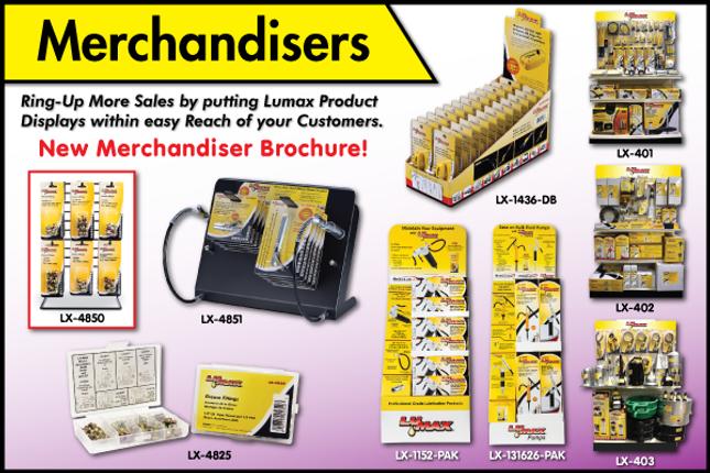 Lumax Merchandisers