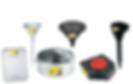 lumax Funnels and Drains Steel Funnels plastic funnels