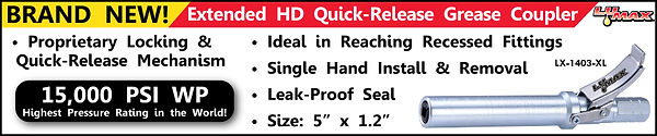 Worlds Best Quick Release Grease Coupler
