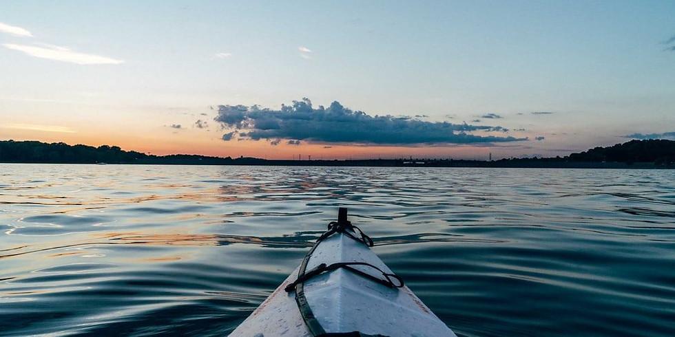 Kayaking Group Meditation