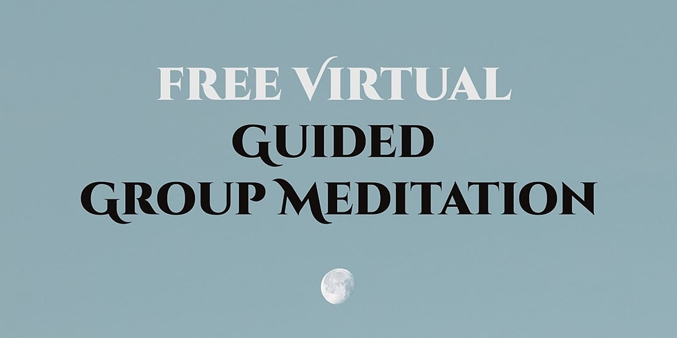 Free Virtual Guided Group Meditation