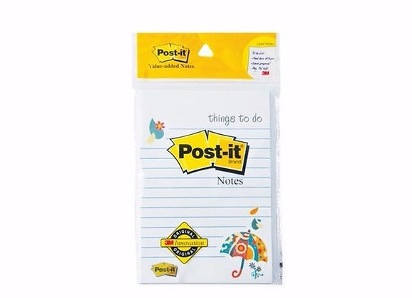 "Post-it ""Things to Do"" 4"" x 6"" x 50 sheets"