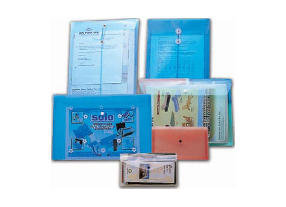 Button Folders (Clear Bags)
