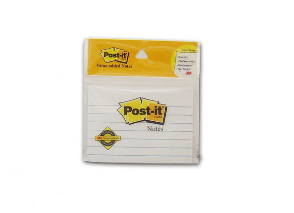 """Post-it Value Added Notes 3"""" x 4"""" x 50 sheets"""
