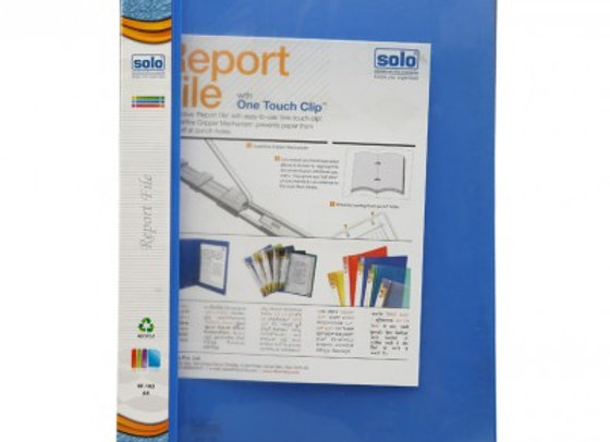 Solo Report File Transparent top RF102