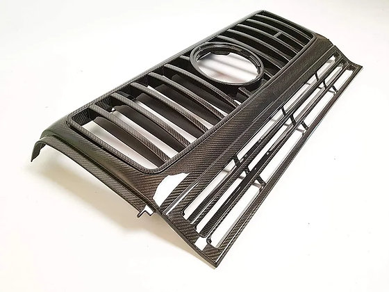 Front grille made of carbon for Gelendvagen w463