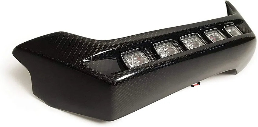 Brabus Carbon Fiber Bumper G63 AMG with Ladders